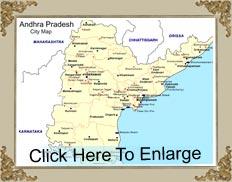 Andhra Pradesh Map - Map of Andhra Pradesh, Andhra Pradesh India Map ...