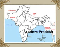 Andhra Pradesh Location - Andhra Pradesh Geographical Location ...