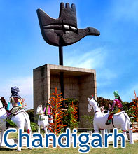Chandigarh City India