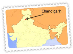 Chandigarh Location
