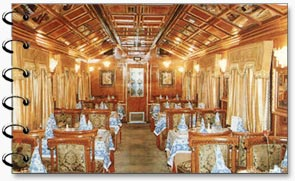 Interiors, Palace on Wheels