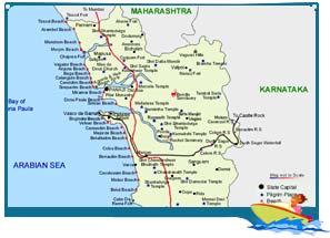 Goa map map of goa goa india map goa travel map road map goa map gumiabroncs Image collections