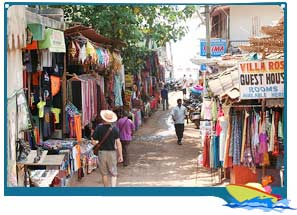 Shopping in Mapusa