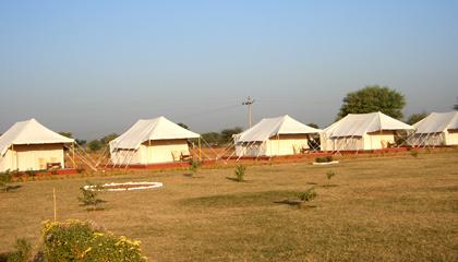 Jungle Niwas & Luxury Tents in Ranthambore - Luxury Tent Ranthambore ...