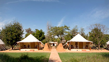 Sher Bagh & Luxury Tents in Ranthambore - Luxury Tent Ranthambore ...