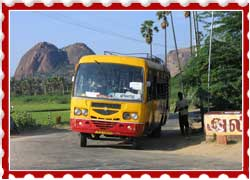 Reaching Aihole By Bus
