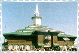 Charar-i-Sharief in Kashmir