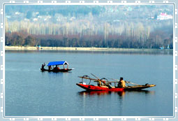 Dal Lake of Kashmir