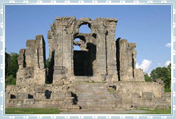 Martand Sun Temple of Kashmir