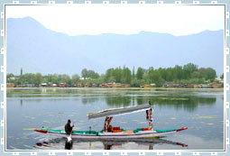 Nagin Lake of Kashmir