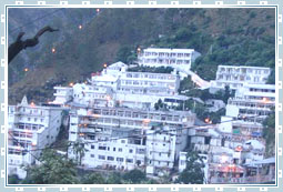 Vaishno Devi Temple in Kashmir