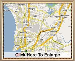 Mumbai Map Mumbai City Map Map of Bombay India Mumbai Tourist Map