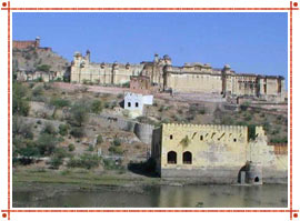 Amer Fort in Jaipur, Rajasthan