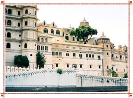 City Palace in Udaipur
