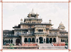 Jaipur Central Museum in Rajasthan