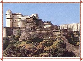 Kumbhalgarh Fort in Rajasthan
