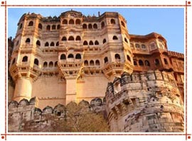 Mehrangarh Fort in Rajasthan