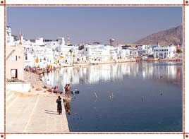 Pushkar Lake in Rajasthan