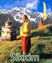 Monk at Sikkim