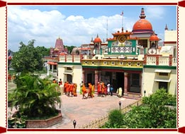 Chinese Buddhist Temple in Kushinagar