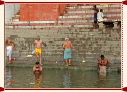 Ganga  Bath in Varanasi