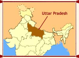 Uttar Pradesh Location