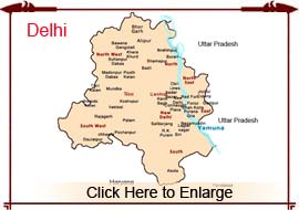 Map Of Delhi City Delhi Map   New Delhi Map, Delhi City Map, Delhi India Map, New