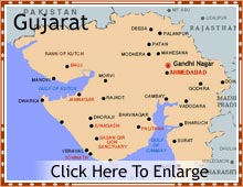 Gujarat Tourist Map Gujarat Map   Gujarat India Map, Gujarat State Map, Tourist Map of