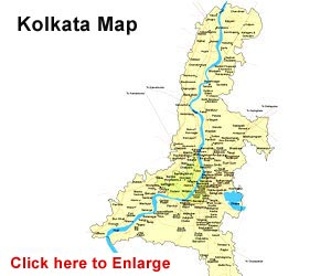 Map Of Calcutta Kolkata Map   Kolkata India Map, Map of Calcutta West Bengal